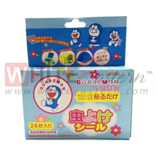 Picture of Anti Mosquito Repellent Patches Doraemon Design, 24 Pieces