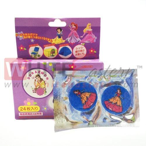 Picture of Anti Mosquito Repellent Patches Princess Design, 24 Pieces