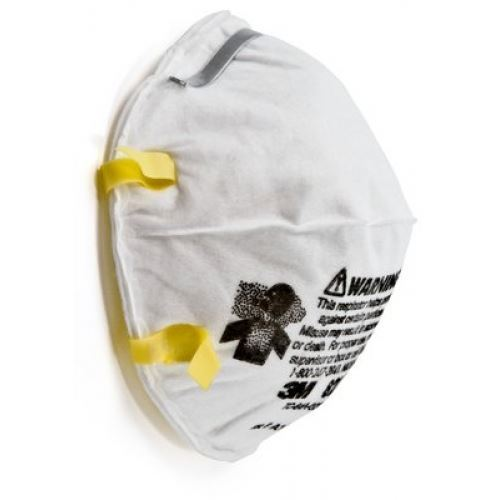 Picture of 3M 8210 N95 Particulate Respirator Mask, 20 Pieces