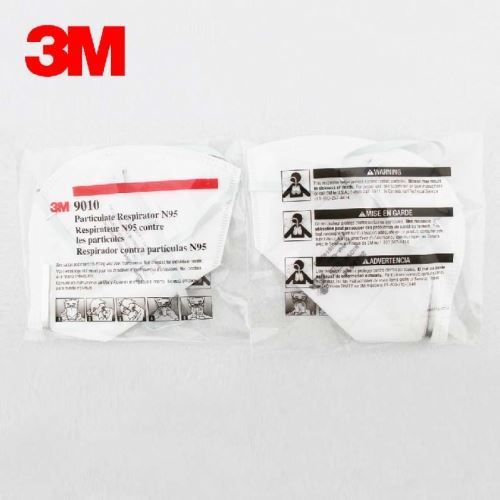 Picture of 3M 9010 N95 Particulate Respirator Mask, 500 Pieces