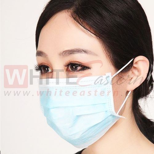 Picture of 3 Ply Surgical Face Mask with Earloop, 50 Pieces