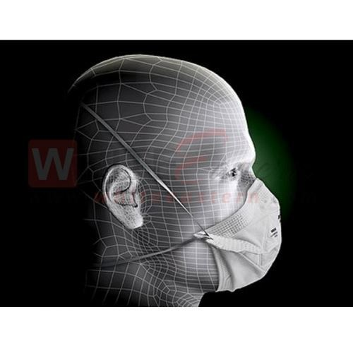 Picture of 3M 9105 VFlex N95 Particulate Respirator Mask, 10 Pieces