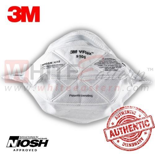 Picture of 3M 9105 VFlex N95 Particulate Respirator Mask, 25 Pieces