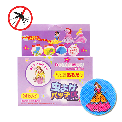 Picture of Anti Mosquito Repellent Patches Princess Design, 24 Pieces