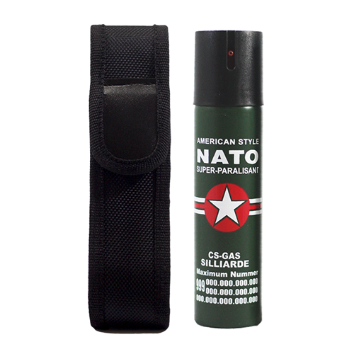 Picture of Security Combo 6 NATO 110ML Pepper Spray + Holster