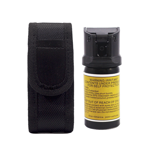Picture of Security Combo 15 Sino America 40ML Pepper Spray + Holster