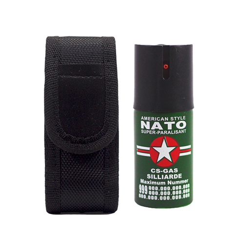 Picture of Security Combo 6 NATO 40ML Pepper Spray + Holster
