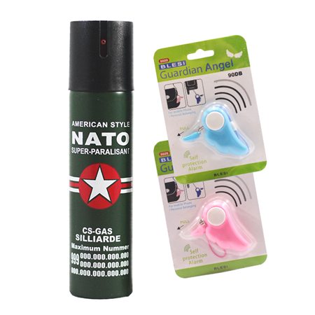 Picture for category Pepper Spray with Personal Alarm Packages