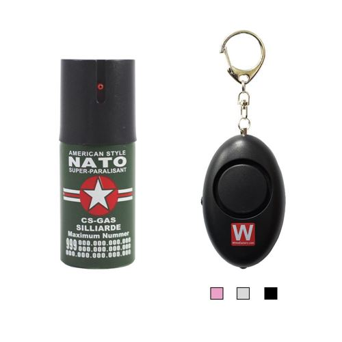 Picture of Nato 40ml Pepper Spray(40ml) with 120dB Personal Alarm Package