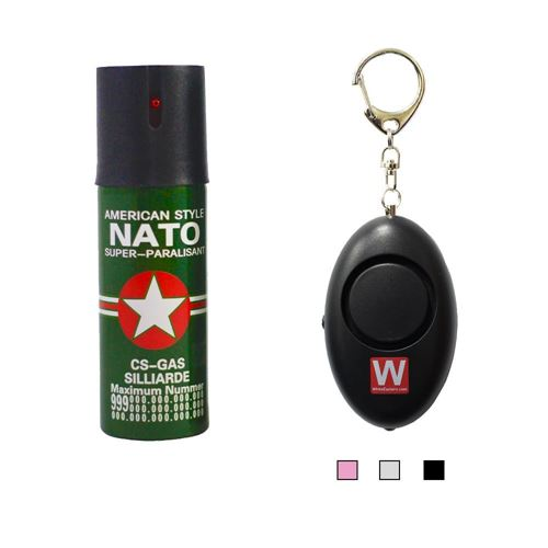 Picture of Nato Pepper Spray(60ml) with 120dB Personal Alarm Package